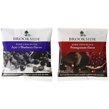 Brookside Chocolates, Dark Chocolate Acai Blueberry and Pomegranate, 0.7 Oz, 60 Count
