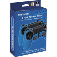 Rds Industries Action Grip Sleeve Dualshock 4 Wireless Controller for Sony PS4 - Blue