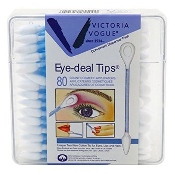 Victoria Vogue Eye-Deal Tips 80 Count (6 Pieces)
