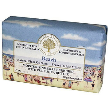 Wavertree & London Beach luxury soap by Australian Natural Soap