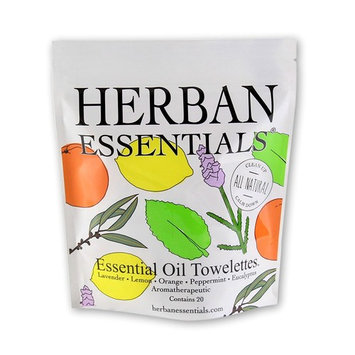 Herban Essentials Cleansing Towelettes [Assorted Bag]