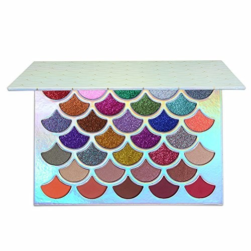 ISALI 32 Colors Glitter & Matte Eye Shadow