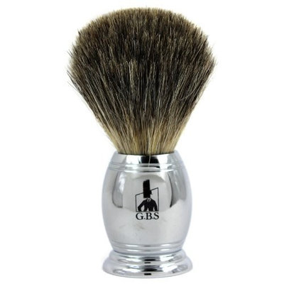 Pure Badger Chrome Shaving Brush with Free Stand From GBS