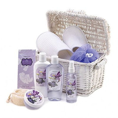 Best Gift Baskets, Iris Blueberry Scented Body Care Gifts Sets For Women
