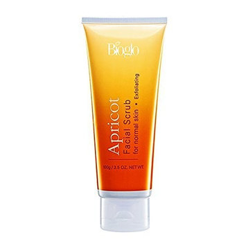 MUST BUY ! 4 Tube COSWAY Bioglo Apricot Facial Scrub For Normal Skin ( 100g )