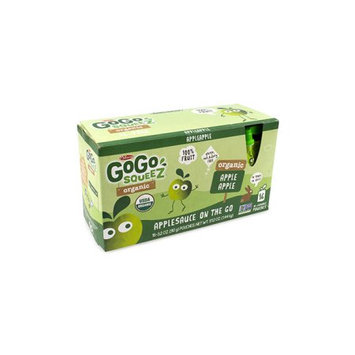 Materne GoGo Squeez Organic Applesauce Pouches, 3.2 oz, 16 Count