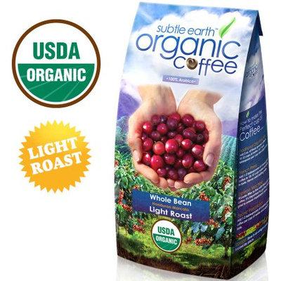 2LB Cafe Don Pablo Subtle Earth Organic Gourmet Coffee - Light Roast - Whole Bean Coffee USDA Certified Organic, 2 Pound