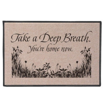 Wireless Take a Deep Breath Mat - Home