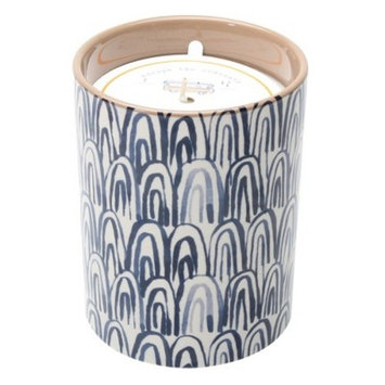 Decaled Ceramic Candle Escape the Ordinary 15oz - Happy Place