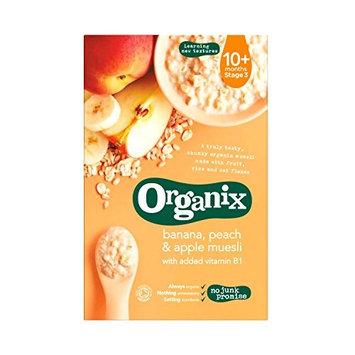 ORGANIX Banana Peach Apple Muesli Baby Food, 200 GR