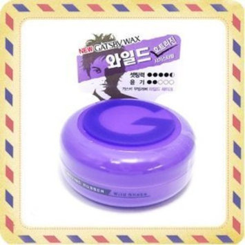 [ Gatsby ] Moving Rubber Hair Wax - 80g / Wild Shake. : Beauty