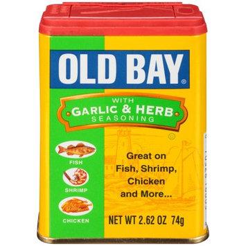 McCormick Old Bay Garlic & Herb Seasoning, 2.62 OZ (Pack of 2)