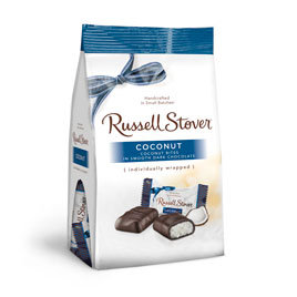 Russell Stover Chocolates Russell Stover 6 OZ Dark Chocolate Coconut Favorites Bag