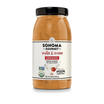 Sonoma Gourmet Vodka & Cream Organic Pasta Sauce 25 oz (Pack of 4)