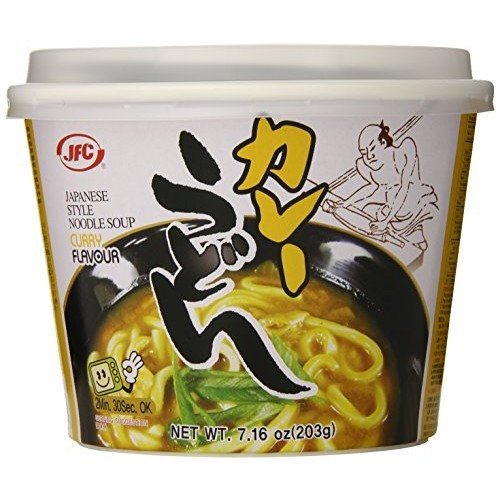 JFC Curry Noodles, Udon, 7.16 Ounce