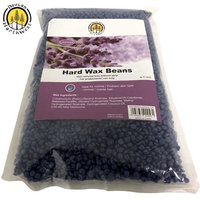 Hard Wax Beans 2.2 Pounds Hair Removal Arm Leg Facial Women Men Self Waxing Purple Lavender