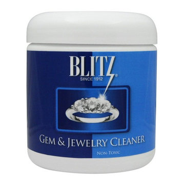 Blitz Gem & Jewelry Liquid Cleaner - 0.5oz Concentrate Packet & 8oz Jar