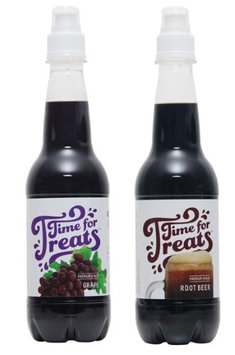 Victorio Kitchen Products Victorio Time for Treats Snow Cone Syrup 2 Pack Bundle Grape and Root Beer