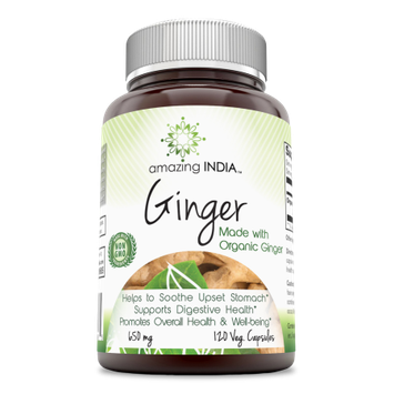 Amazing India Organic Ginger Root