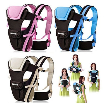 CdyBox Adjustable 4 Positions Carrier 3d Backpack Pouch Bag Wrap Soft Structured Ergonomic Sling Front Back Newborn Baby Infant