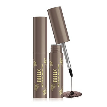 Mille 6D Tattoo Tint Brow Gel Waterproof Long Lasting (Grey Brown)