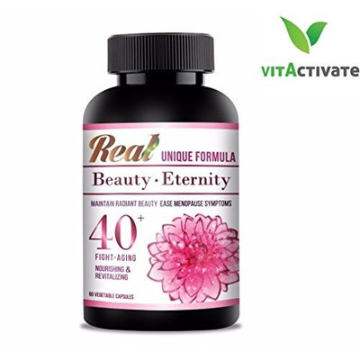 Top Menopause Herbal Supplements by VITA Activate Anti-Aging, Maintain Healthy Skin, Get Support and Relief for Hot Flashes, Night Sweats, Mood Swings
