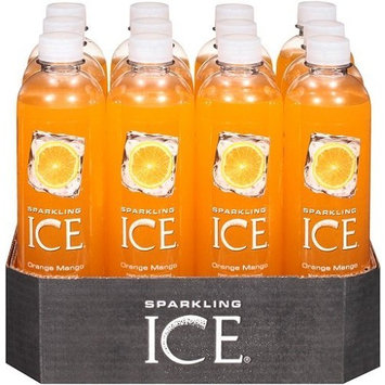Sparkling ICE Spring Water (Orange Mango, 17 Oz Pack of 12 Units)