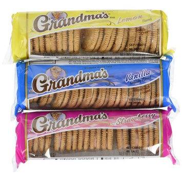 Frito Lay Grandma's Sandwich Cookies Variety Pack, 30 Count