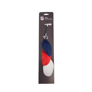 England Patriots Fan Feather Hair Clip Extension