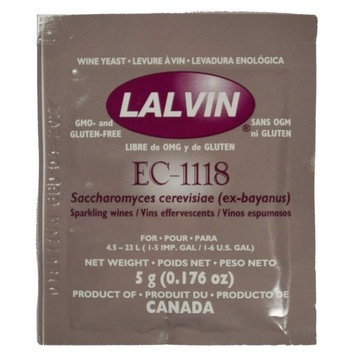 Lalvin EC-1118 Yeast by Lallemand Inc