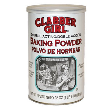 Clabber Girl: Double Acting Baking Powder, 22 Oz