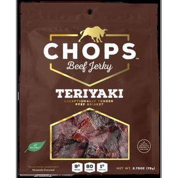 Chops Snacks Chops Beef Jerky Teriyaki (5-Pack)