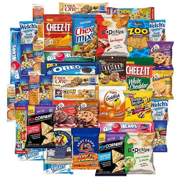 Snacks Generation Chips, Cookies And Candies Variety Mix Assortment (40 Count)