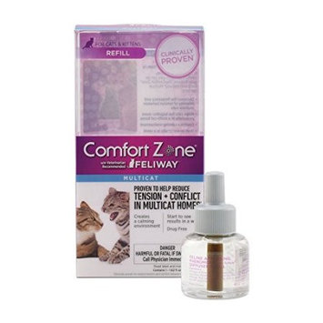 Comfort Zone with Feliway Multicat Refill: 30-Day Refill (48 ml)