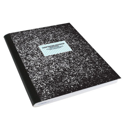 Crown Bolt Pads & Notebooks 9-3/4 in. x 7-1/2 in. Black Composition Graph Ruled Book (100-Pack) 66737