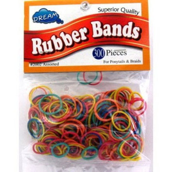 Dream Rubber Bands 300's Assort Bag (Pack of 12)