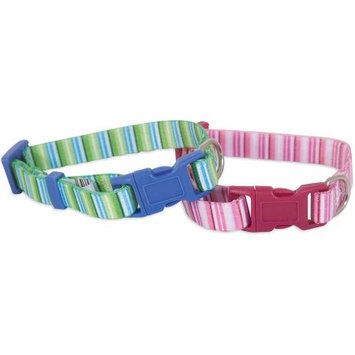 Doskocil Products Aspen Pet Striped Collar, 3/8
