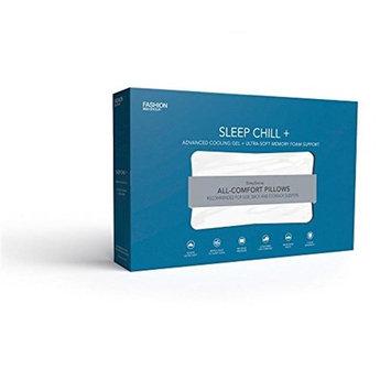 Sleep Chill + Advanced Cooling Gel Memory Foam Pillow, King / California King