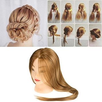 Head Model, Hatop New Female Dummy Head Long Hair Hairdressing Training Head Model