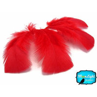 Turkey Feathers, Turkey Plumage - Red Turkey T-base Plumage Feathers - 0.50 Oz.