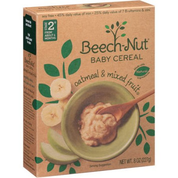 Good Morning Whole Grain & Mixed Fruit Oatmeal Cereal For Baby, 8 oz