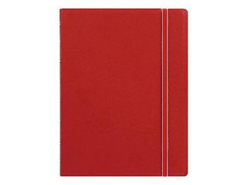 Rediform Office Products B115008U 8.25 x 5.81 College Rule Notebook Red Cover 112 Sheets Per Pad