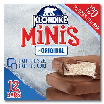 Klondike Ice Cream Bars Original Minis 12 ct