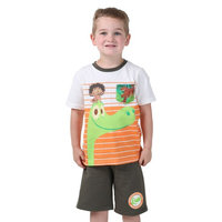 Good Dinosaur Striped Toddler Tee with Shorts