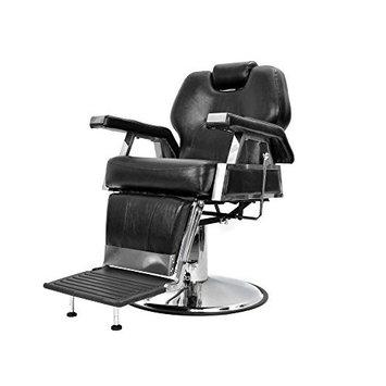 TMS Hydraulic Recline Barber Chair Heavy Duty Shampoo Salon Beauty Hair Styling Spa