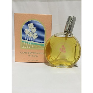 Camp Beverly Hills by Camp Beverlly Hills for Women. The Splash 4 Ounces (Damaged Box)