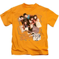 Saved By The Bell/It'S All Right S/S Juvenile 18/1 Gold Nbc564 [clothing_size_type: clothing_size_type-regular]