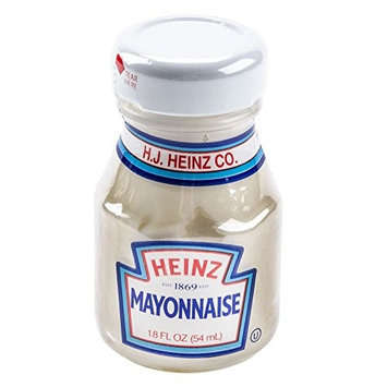 Heinz Mayonnaise, 1.8 fl.oz. room service bottle, Pack of 60
