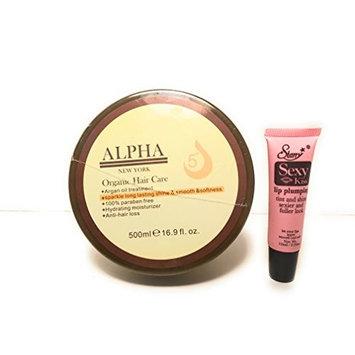 Alpha New York Original Argan Oil 5+ Hydrating Mask For All Hair Types 16.9 fl. oz