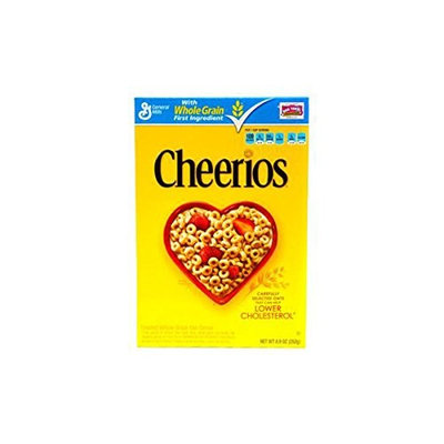 Product Of General Mills Cereal, Cheerios - Box, Count 1 - Cereals / Grab Varieties & Flavors